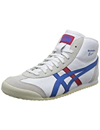 Onitsuka Tiger 鬼塚虎 中性 MEXICO Mid Runner 休闲跑步鞋 DL409