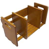 武田公司【本立て · 支架桌面整理】书架2件套  棕色