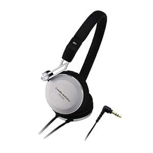 Audio-Technica 铁三角ATH-ES88 动圈密闭式便携音乐耳机 黑色