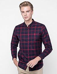 美国大牌 买2件减20元 U.S. POLO新品长袖衬衫男士商务正装纯棉T恤休闲修身男士上衣服2018年新款服饰服装男装