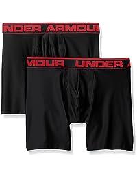 Under Armour 安德玛 男式 原创系列 6英寸平角内裤 2条装
