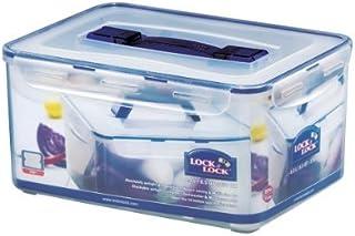 Lock&Lock 270 液体盎司矩形容器带手柄和托盘,高大,33.3 杯