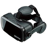 GREEN HOUSE 3D VR Go Go 电脑耳机 头戴式耳机 一体型 适用智能手机尺寸 4.7~6.1英寸 GH-VRHB-BK