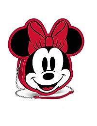 Karactermania 迪斯尼图标米妮 鼠标-宽链单肩包单肩包,20厘米,红色