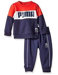 Puma 男婴套头羊毛套装
