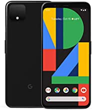 Google 谷歌 Pixel 4 64GB 手机,黑色,Android 10