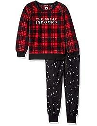 Petit Lem 儿童小假日男女通用 2 件套睡衣套装,舒适,可爱舒适