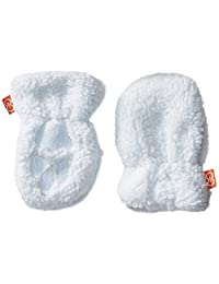 壮丽的男宝宝蓝色冰沙羊毛手套
