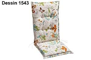 Best 04201543 座椅垫 高靠背 STS 120×50×7 厘米 D.1543