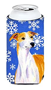 Whippet Winter Snowflakes Holiday Michelob Ultra Koozies for slim cans LH9283MUK 多色 Tall Boy