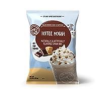 Big Train 混合冰咖啡,太妃摩卡,3.5磅(1589克),粉状速溶咖啡饮料混合,热冷均可,制作混合冰沙饮品