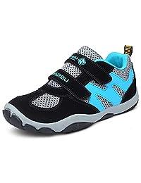 DADAWEN 儿童透气户外登山运动鞋系带运动跑鞋