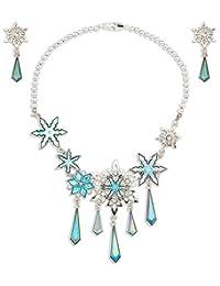 Disney Elsa 金属珠宝套装