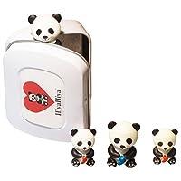 HiyaHiya 概念锡带熊猫点保护器,橡胶,多种,6 x 1.5 x 4.5 cm