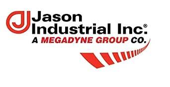 Jason Industrial BR400 黄铜销凸缘轴联轴器,黄铜旋转,4 英寸公 NPSM x 4 英寸母 NPSM