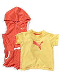Puma 男童夏季套装