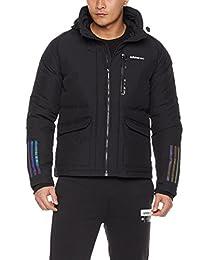 adidas NEO 阿迪达斯运动生活 羽绒外套 男式 运动羽绒服 CD4244 黑/黑 M DOWN JACKET