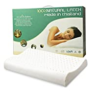 ECOLIFELATEX 泰国进口天然乳胶枕 枕头 枕芯 护颈枕 PM(矮小款7-9cm)