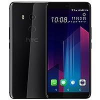 HTC U11+ 移动联通电信全网通 全面屏手机 6GB+128GB (极镜黑) 下单赠送U11+专属钢化膜、htc双肩背包