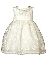 Heritage Krista - 复古白色无袖连衣裙 古典白色 0-3 mths