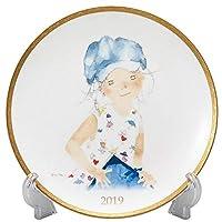 NARUMI(Narumi) ishikyokyu 2019年耳塞板(带有素描手册的蓝色帽子的少女) 21cm 52152-21325 日本制