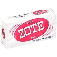 Zote 洗衣皂,粉色,4 条,7.0 盎司每件