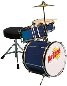 Cannon UP104BLUE 3 件套蓝色鼓套装,12 英寸