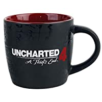 uncharted 4?–?指南針馬克杯 black-red