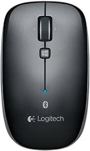 Logitech 罗技M557多平台连接蓝牙无线鼠标(灰)