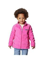 Columbia 女童羊毛外套夹克 冰粉红 Medium
