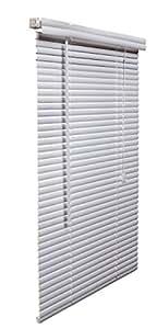 West Coast Blinds 乙烯塑料百叶窗 2.54 厘米 白色 28-1/2 by 60-Inch RL28560WH