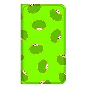 智能手机壳 手册式 对应全部机型 薄型印刷手册 cw-029top 套 手册 蘑菇 超薄 轻量 UV印刷 壳WN-PR248119-S MEDIAS WP N-06C 图案D