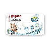 PIGEON 贝亲 婴儿 柔湿巾80片装 KA36