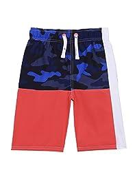 Nautica 诺帝卡 男孩泳裤 UPF 50+ *