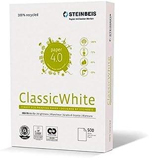 Steinbeis ClassicWhite DIN A4,5 x 500张,白色,多功能纸张,80g / m2