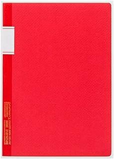 Stalogy S4-L 橫線筆記本:17.78 厘米。 10 英寸(約 25.4 厘米) (紅色)/橫線筆記本