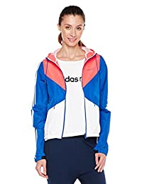 adidas NEO 阿迪达斯运动生活 女式 防风服 W COLORBLOCK WB