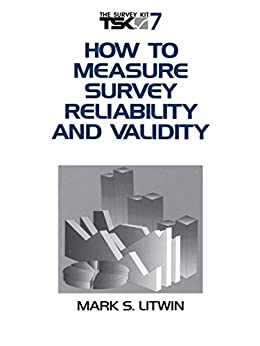 """""""How to Measure Survey Reliability and Validity (Survey Kit Book 7) (English Edition)"""",作者:[Litwin, Mark S.]"""