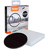 Rollei 祿萊 Premium 82 毫米 圓形濾鏡 ND 2000/11Stops 鏡頭灰濾鏡 白天長期攝影 (82 毫米 ND 2000)