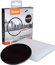 Rollei 禄莱 Premium 82 毫米 圆形滤镜 ND 2000/11Stops 镜头灰滤镜 白天长期摄影 (82 毫米 ND 2000)