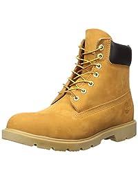 Timberland 添柏岚 男式 6英寸(约15.24厘米)基本款靴子 对比色鞋帮