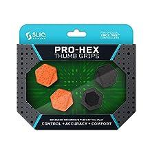 Sliq Gaming Pro-Hex 拇指棒手柄,适用于 Xbox One 控制器