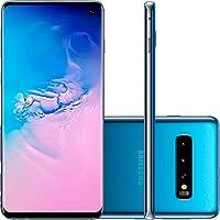 "Samsung Galaxy S10 128GB+8GB RAM SM-G973F/DS Dual Sim 6.1"" LTE Factory Unlocked Smartphone (International Model) (Prism Green)"
