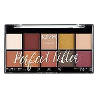 NYX 专业化妆品完美滤镜眼影盘 0.6 Ounce