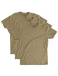 BUNKER 27 Coyote 棕色 T 恤 * OCP 汗衫,3 件装,柔软舒适