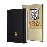 Moleskine 收藏盒 The Legend of Zelda 收藏册,横格布局,精装和主题图形,尺寸 L 13 x 21 厘米,240 页(限量版)