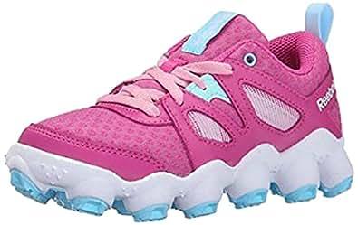 Reebok ATV19 Turbo 跑鞋(小童/大童) Cool Breeze/Lilac Ice/White 2 M US 儿童