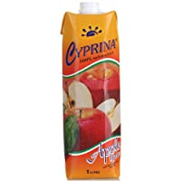 Cyprina塞浦丽娜牌苹果汁1L*4(塞浦路斯进口)