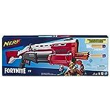 Nerf Fortnite TS 玩具枪 -- 泵动作飞镖枪,8 个官方 Mega Fortnite 飞镖,飞镖存储存货 - 适合青少年、成年人