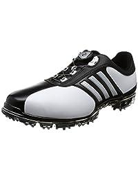 阿迪达斯运动经典系列高尔夫球鞋 ピュアメタル 毛绒加 Pure Metal Boa Plus